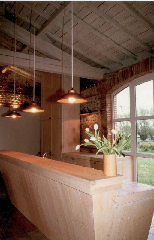 r novation d une ferme lauraguaise architecte d 39 int rieur toulouse sophie sabarich bonay. Black Bedroom Furniture Sets. Home Design Ideas