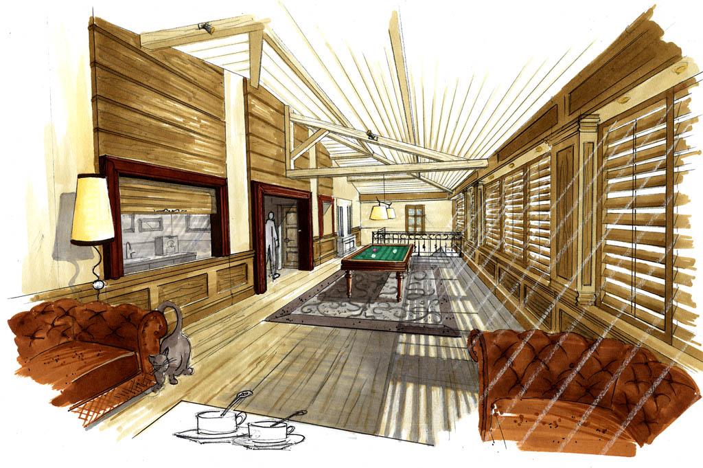 restauration d une propri t du xviii si cle architecte. Black Bedroom Furniture Sets. Home Design Ideas