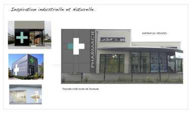 Extension et rénovation d'une pharmacie à Auterive