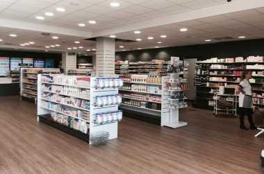 Rénovation d'une pharmacie à Auterive