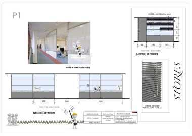 Sophie Sabarich Bonay Architecte d'intérieur Rénovation des Bureaux ASTRIUM de Toulouse